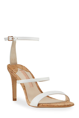 Sophia Webster Rosalind Mid Leather Sandals