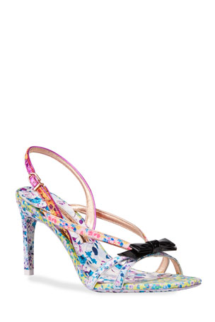 Sophia Webster Laurellie Mid-Heel Sandals
