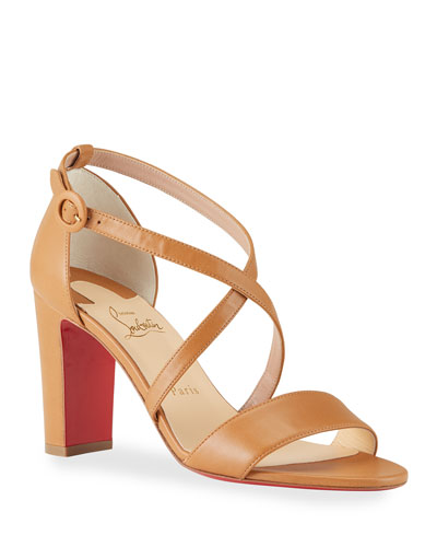 Loubi Bee 85mm Red Sole Sandals