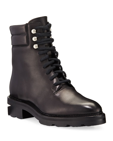 Alexander Wang Andy Hiker Leather Booties