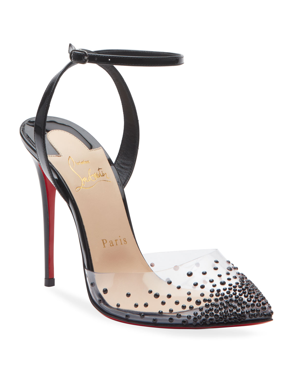 Christian Louboutin Spikaqueen 100 Red