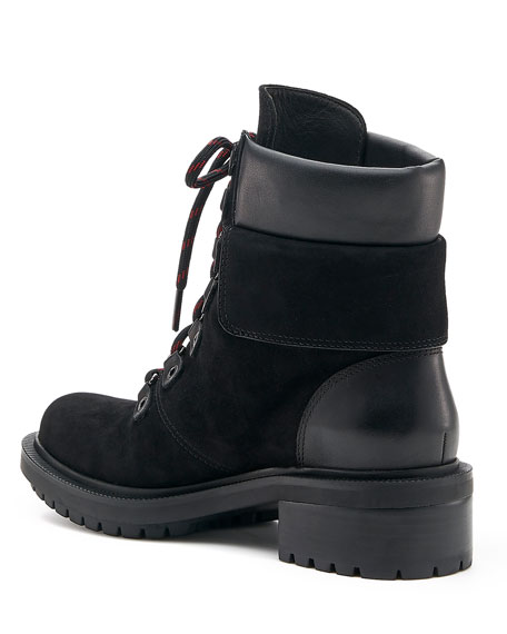 Botkier Madigan Suede Lace-Up Booties