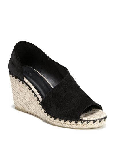 Sonora Asymmetric Suede Sandals