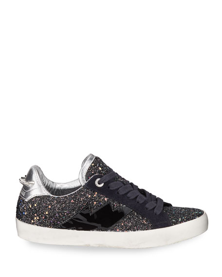 Image 2 of 3: Zadig & Voltaire Used Glitter Sneakers