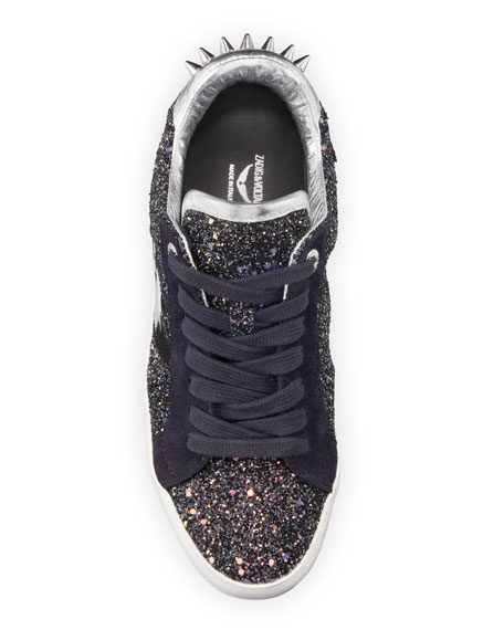 Image 3 of 3: Zadig & Voltaire Used Glitter Sneakers