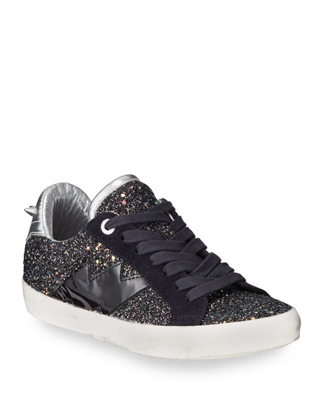 Image 1 of 3: Zadig & Voltaire Used Glitter Sneakers
