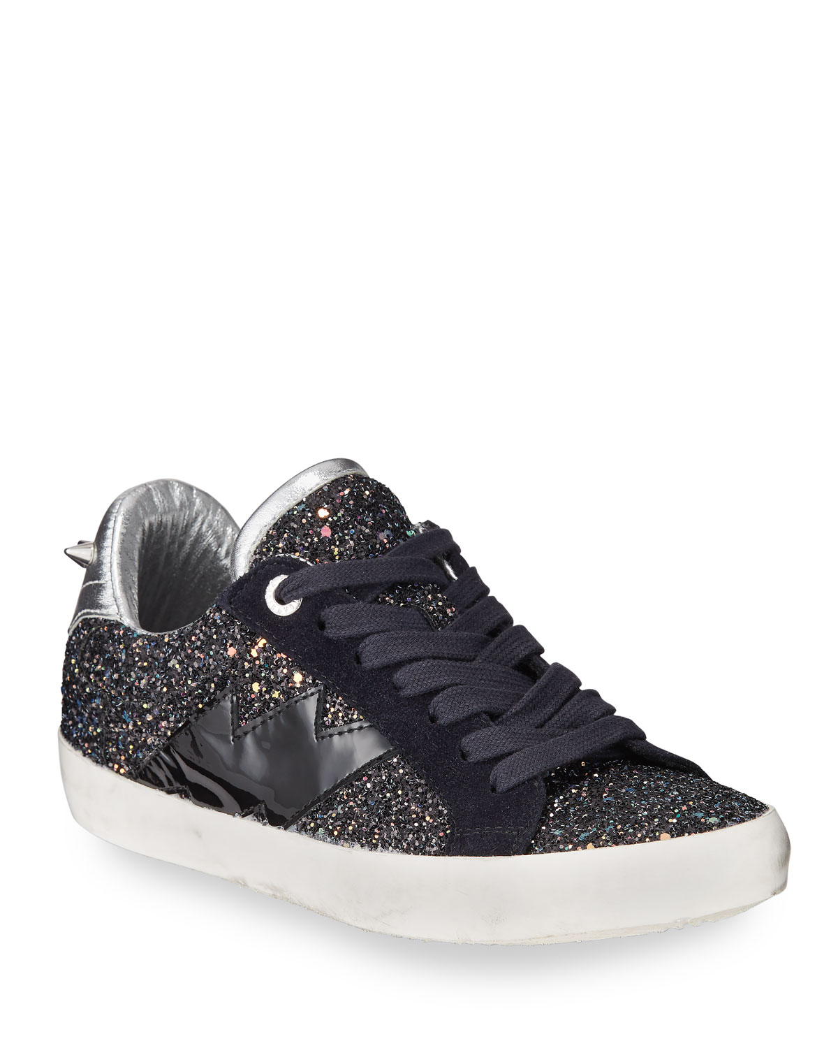 Zadig & Voltaire Used Glitter Sneakers