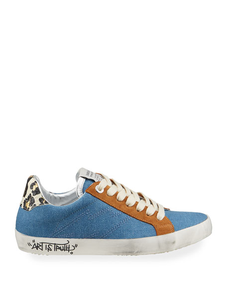 Image 2 of 4: Zadig & Voltaire Used Jean Denim Sneakers