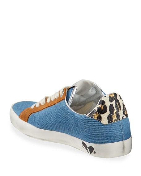 Image 4 of 4: Zadig & Voltaire Used Jean Denim Sneakers