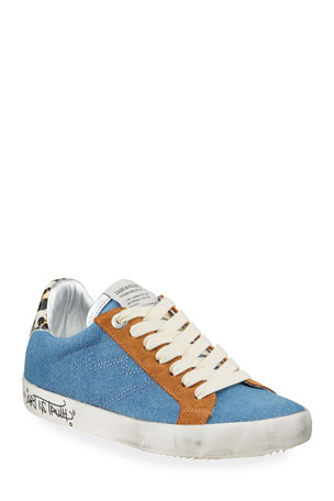 Zadig & Voltaire Used Jean Denim Sneakers
