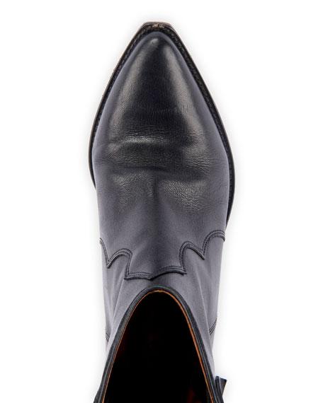 Isabel Marant Dewina Leather Western Booties
