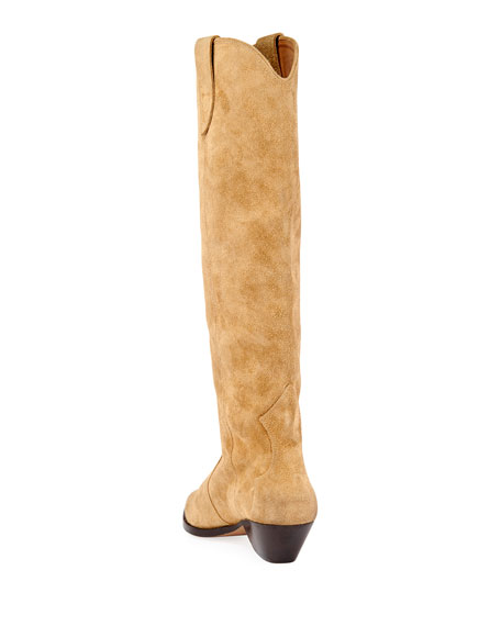 Isabel Marant Denvee Western Knee Boots