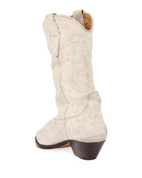 Isabel Marant Duerto Distressed Cowboy Boots