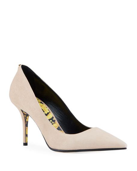 Versace Patent Pumps with Baroque Sole