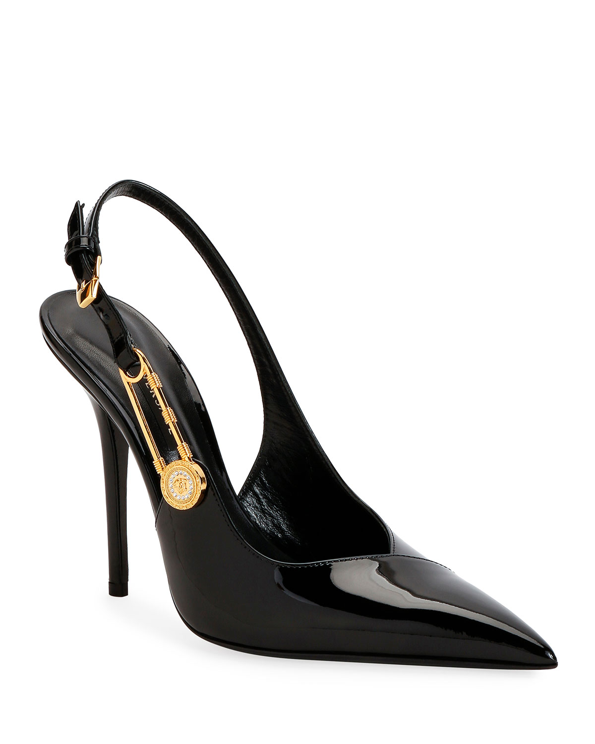 Versace Safety Pin Pumps for Women | US Online Store