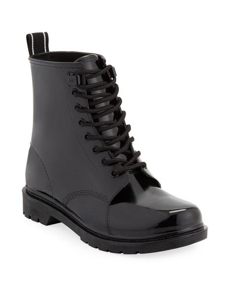MICHAEL Michael Kors Tavie Combat Rain Boots