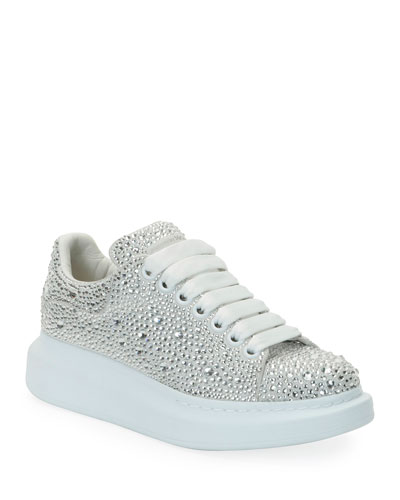 Oversized Crystal Chunky Sneakers