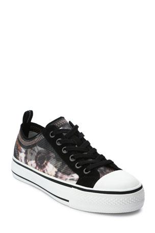 Ash Vertu Floral Low-Top Sneakers
