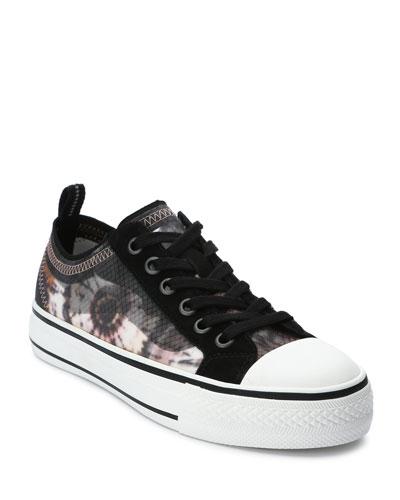 Vertu Floral Low-Top Sneakers