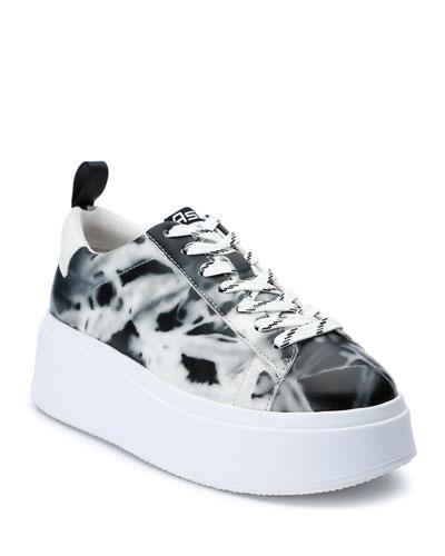 Moon Tie-Dye Sneakers