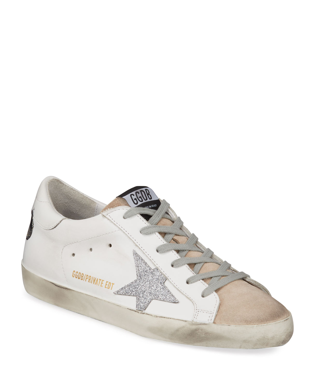 Superstar Bow Lace Up Sneakers