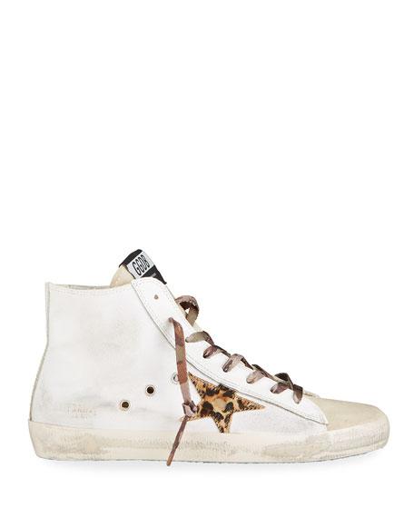 Golden Goose Francy Animalier Star Sneakers