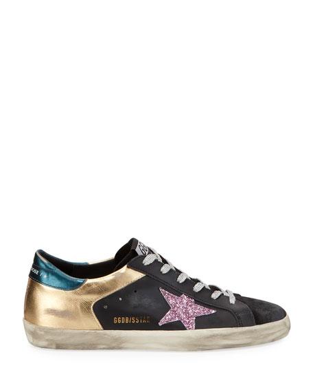 Golden Goose Superstar Multi Metallic Sneakers