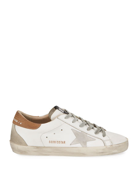 Image 2 of 3: Golden Goose Superstar Leather Lace-Up Sneakers