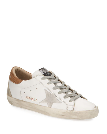 Image 1 of 3: Golden Goose Superstar Leather Lace-Up Sneakers