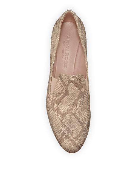 Taryn Rose Collection Claudia Snake Wedge Slip-Ons