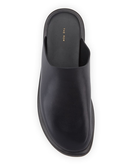 Image 3 of 3: THE ROW Sabot Smooth Calfskin Mules