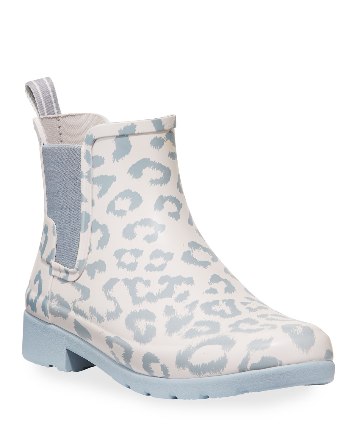 Hunter Boot Refined Leopard Chelsea Booties