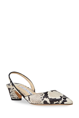 Jimmy Choo x KAIA K-Slingback 40 Pumps