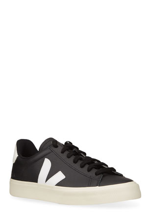 VEJA Two-Tone Leather Sneakers