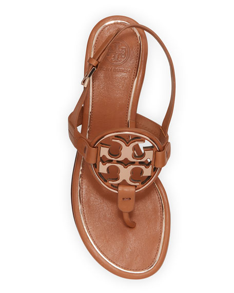 Tory Burch Miller Metal Medallion Sandals