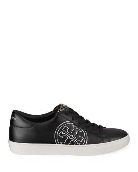 Tory Burch T Logo Embellished Sneakers