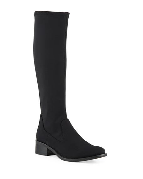 Donald J Pliner Zela Stretch Crepe Knee Boots