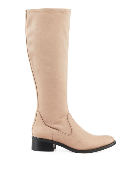 Donald J Pliner Zela Stretch Suede Knee Boots