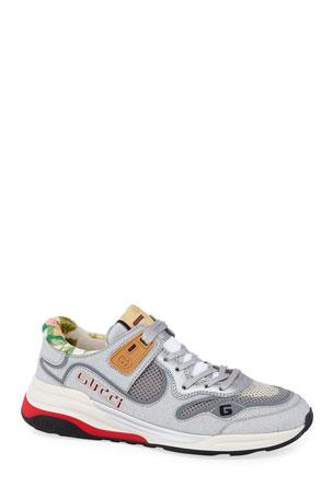 Gucci G Line Glitter Sneakers