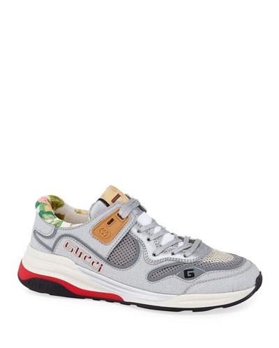 G Line Glitter Sneakers