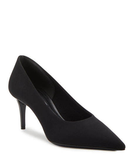 Image 1 of 2: Prada Fabric Stretch 65mm Pumps