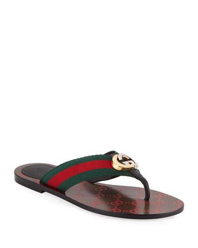 Kika Web Thong Sandals