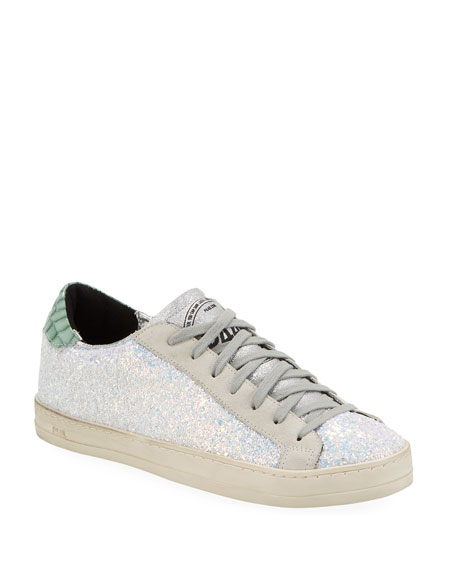 P448 John Glitter Crushed Sneakers