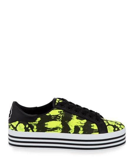 Alice + Olivia Falyn Neon Platform Sneakers
