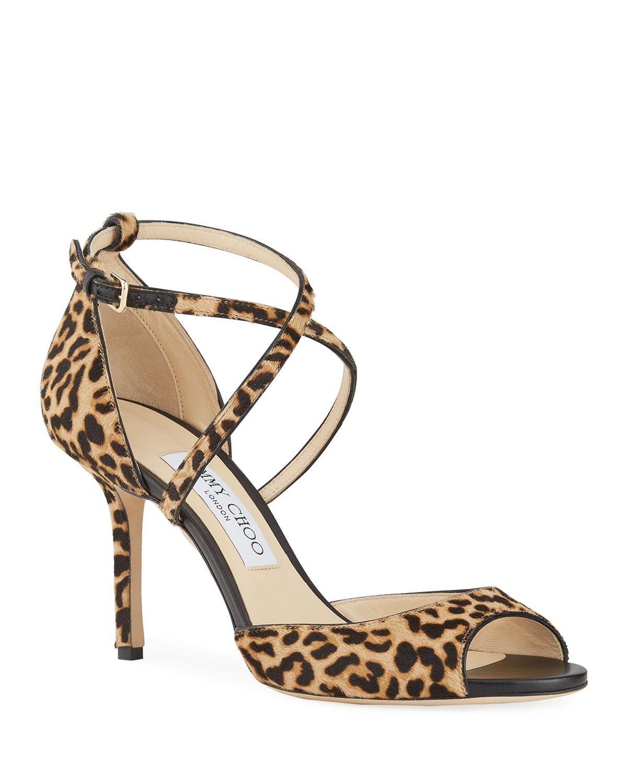jimmy choo leopard shoes