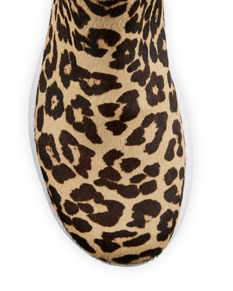 APL: Athletic Propulsion Labs Iconic Leopard Chelsea Sneakers