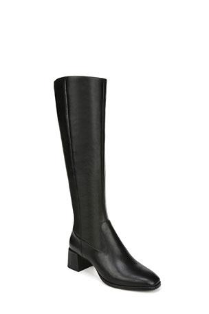 Via Spiga Sanora To-The-Knee Leather Boots