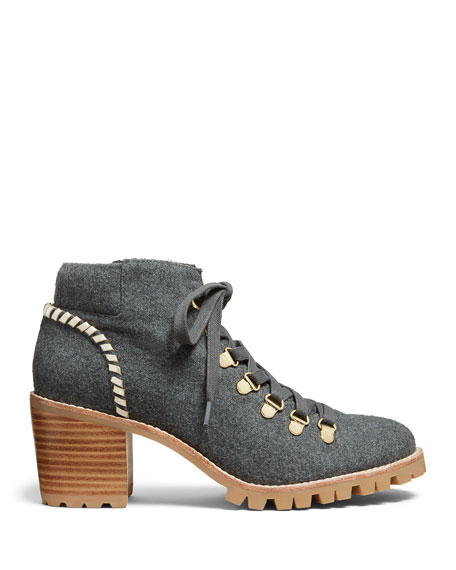 Jack Rogers Poppy Flannel Hiker Boots