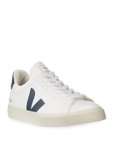 Campo Logo Leather Sneakers