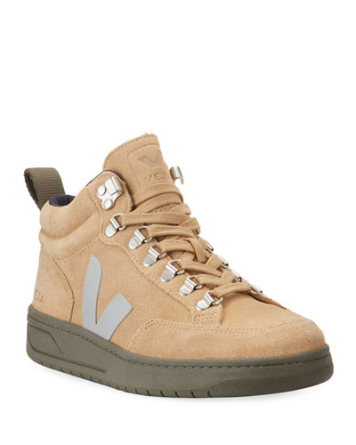 Roraima Logo Lace-Up Sneakers